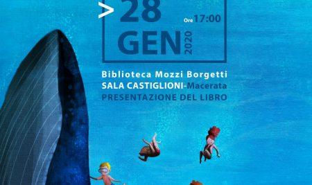Presentazione libro FIVE SAVIOURS OF THE SEA 28 Gennaio Biblioteca Mozzi Borgetti